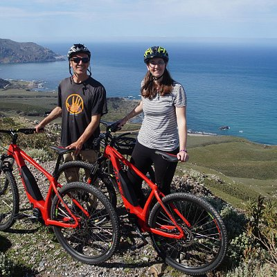 E-MTB (Electric mountain biking) in West Crete