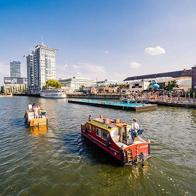 Explore Berlin from the water - a completely new perspective :)