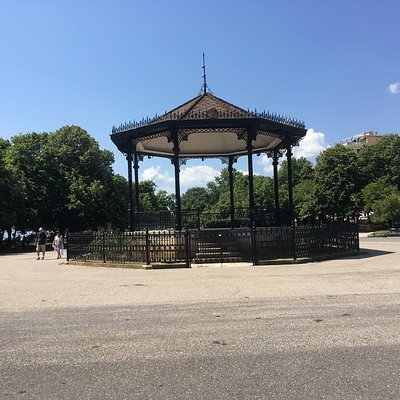 The Ornate music pavilion (Band stand), between old town and the Old Fortress