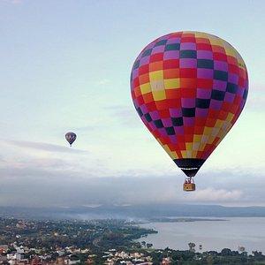 Take a flight tour over san miguel