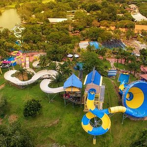 Splash away in 'The Largest Water Theme Park in Malaysia,' as you begin your thrilling water escapade!