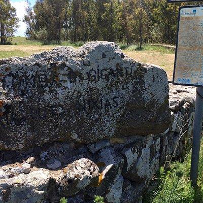 Tomba dei giganti su cuaddu 'e nixias