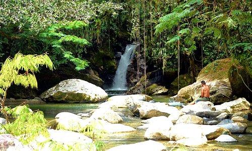 secret waterfall tour