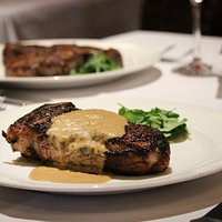 Dry Aged Ny Strip Au Poivre With Courvoisier Cream - 14 Oz.