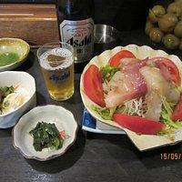海鮮たっぷり海鮮サラダ