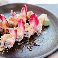 Frshly made sushi