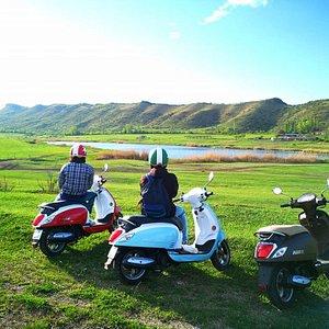 discover Kakheti with Maita scooter