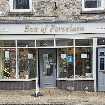 Box of Porcelain Ltd. The shop in Dorchester for quality porcelain items. Dorsets only offical Moorcroft Pottery dealer. Many unique quality porcelain items.