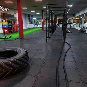 Zone for Cross and functional training