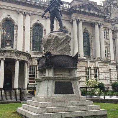 Boer War Memorial Royal Irish Rifles Belfast