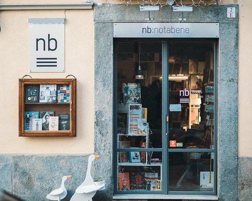 nb:notabene bookshop in Turin
