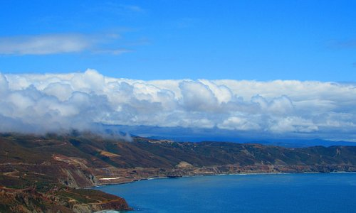 View from El Mirador in Ensenada, MX