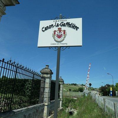 Chateau Canon la Gaffeliere Sign