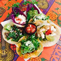 Olamendi's Taco Platter!