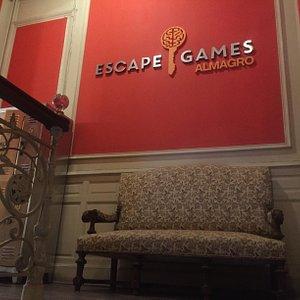 Recepcion Escape Games Almagro / Entrada