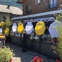 La Table Du Bourg. Restaurant  Tour de France 2018