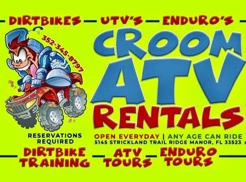 Reservations Required ~ Open Everyday 8-5pm ~ Any age can ride and drive their own ATV's or Dirtbikes
