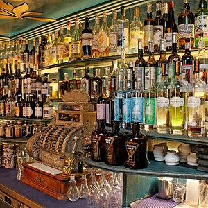 One of the biggest selection of absinths