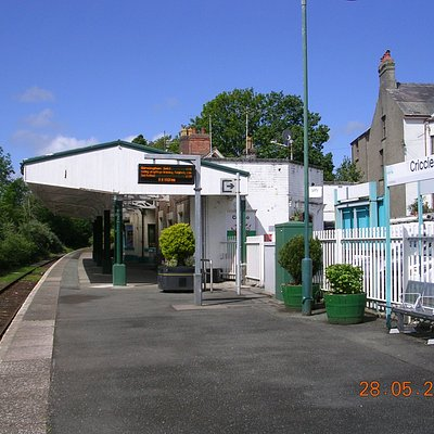 Criccieth Train Station