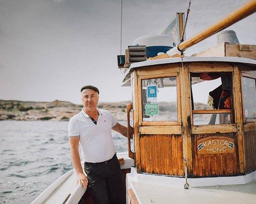 Charming fishing boat Kastor and Captain Lasse