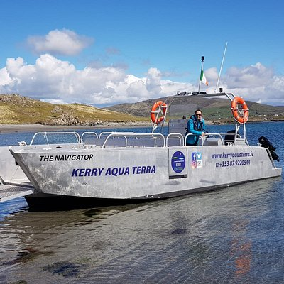 Our guide Elizabeth & Crew are only waiting for you to come and explore with Kerry Aqua Terra