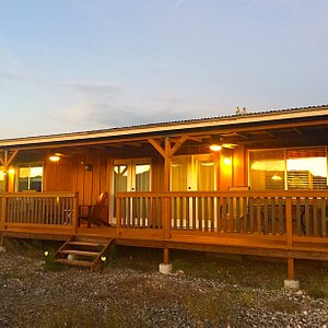 The Ranch House is listed and can be booked through Airbnb.
