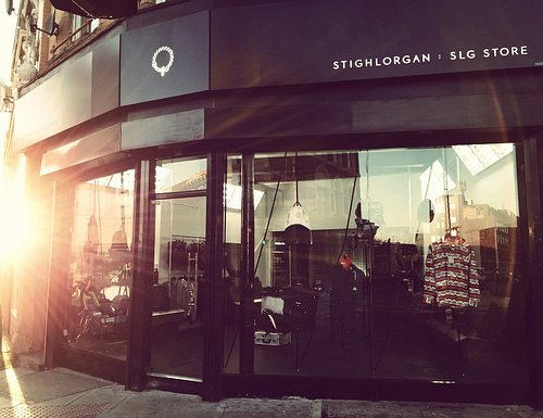 Stighlorgan's East London HQ. The brand began operations in Dalston almost 10 years ago. It's our spot and the SLG store and workshop on the corner of the Kingsland & Stoke Newington crossroads is very close to our hearts. Inside you'll find the widest selection of Stighlorgan bags available anywhere. The selection always includes special editions and one-offs mixed in with the current collection. Alongside Stighlorgan we also curate a rotating selection of clothing brands from across the world.