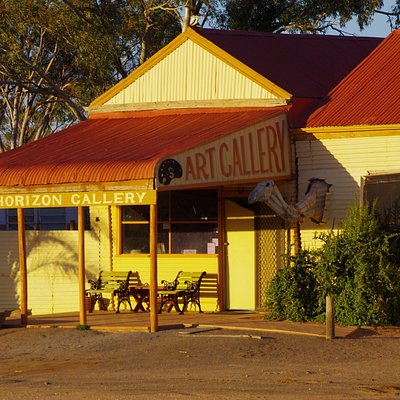 The Horizons Gallery - Silverton New South Wales - well worth a visit!