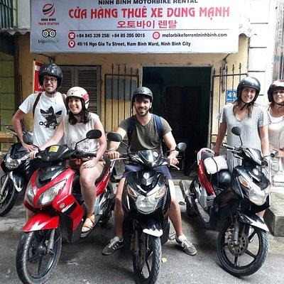 Ninh Binh Motorbike Rental - Train Station