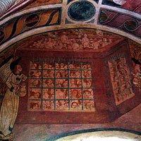 Notre-Dame-de-Ben-Va : fresques du XVIème siècle : le purgatoire