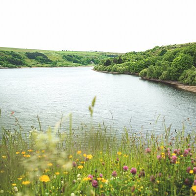 View of Scammonden Reservoir