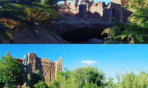 Oasis du Douar Ait Gmat dans la région de Kelaa M Gouna