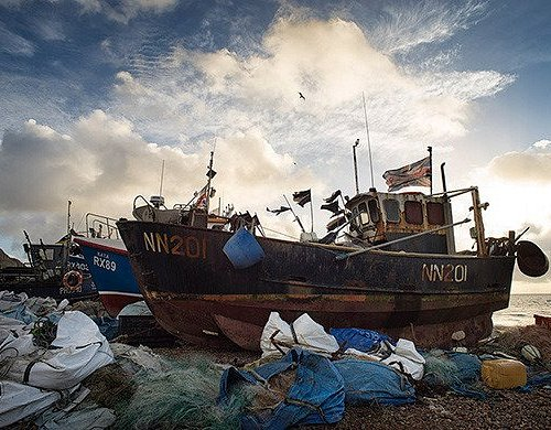 We always have a wide range of Huldrick's dramatic photographs of Hastings and the surrounding area.