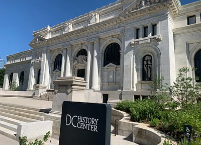 The DC History Center is owned and operated by the Historical Society of Washington, D.C.