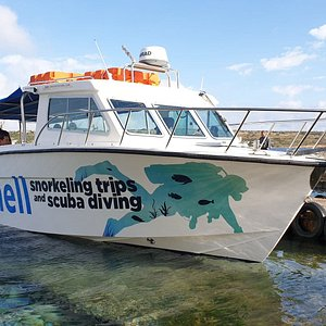 Seashell the boat, daily trips around the three islands