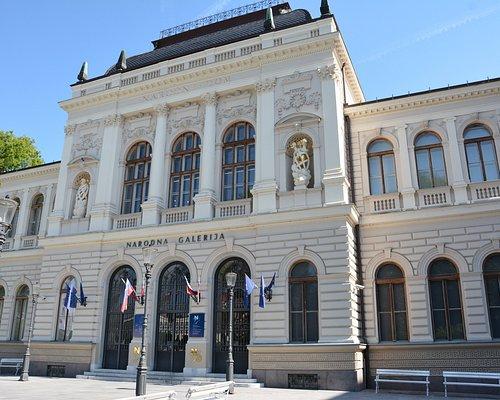 National Gallery of Slovenia, Narodni dom Entrance