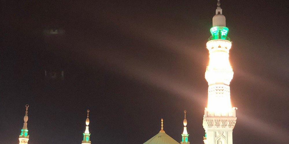 Madina al Munawwarah. Ramadan last ashra In Madīnah.
