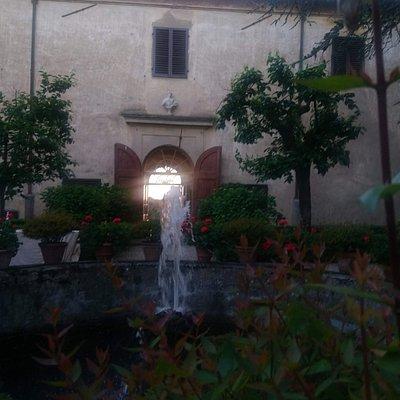 Corte interna della villa