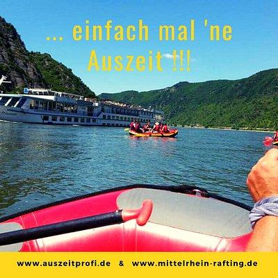 Adventure Day in Zusammenarbeit mit www.mittelrhein-rafting.de  Erleben Sie einen abenteuerlichen Tag im wilden Mittelrheintal.