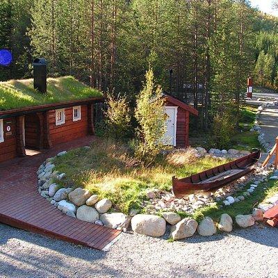 Nordkalottstua cabin summer