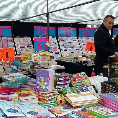 Looking for some new books? Visit us every Saturday and Bank Holiday Monday from 9am to 3pm.