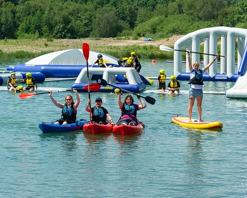 Watersports at North Yorkshire Water Park