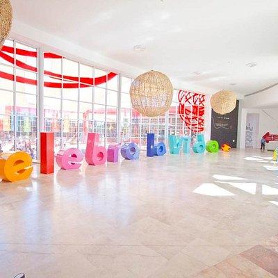 Lobby del museo