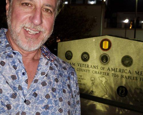 ROSARIO CASSATA AT VETERANS MEMORIAL PARK IN NAPLES FLORIDA.