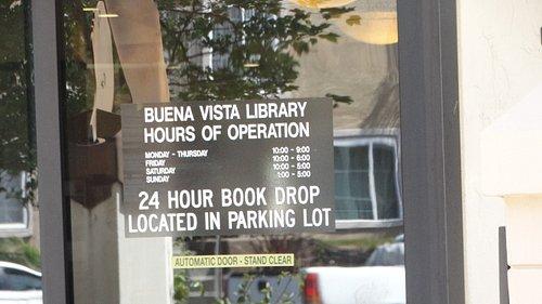Horarios Buena Vista Brunch Library