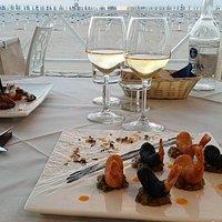 Una cena sul mareal Ristorante La Bussola