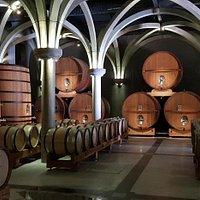 """Le Grand Prébois - La """"Cathédrale"""" de vieillissement des vins"""