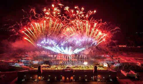 Kynren, An Epic Tale of England Fireworks Finale