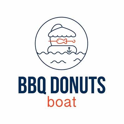 logo bbq donuts boat
