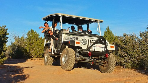 The coolest tour jeep in town!!